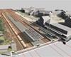 Vizualizace nádraží Radotín