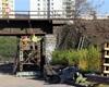 Práce na mostě pokračují, 23.4.2020